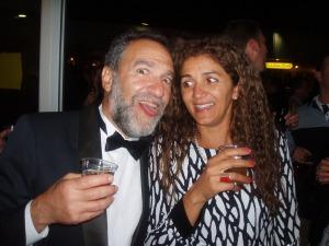 Charlie Papazian con la moglie Sandra