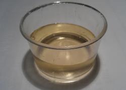 Lo sciroppo di zucchero candito chiaro ottenuto