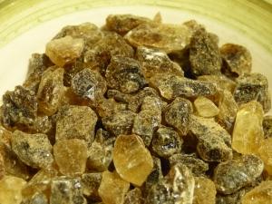 Il classico zucchero candito scuro in cristalli