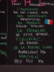 La lista delle birre FHL al Moeder Lambic