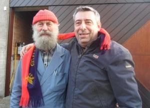 Jef Van den Steen con Kuaska
