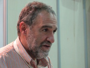 Charlie Papazian at the Salone del Gusto 2010