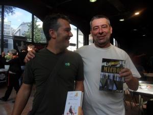 """Kuaska con Andrés Masero, autore del libro """"Micros"""""""