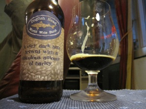Worl Wide Stout di Dogfish Head, 18% alc.