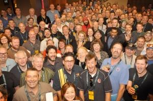 Foto di gruppo dei giudici al GABF 2011
