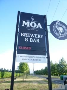 Moa Brewery, Blenheim
