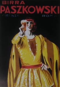 Locandina 1924, Mauzan, 34x24 cm.